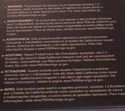 BINOCOLI • Binocolo Bushnell H2O 8x42 cancerogeno e dannoso per la salute?
