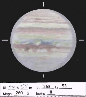 Osservazione e fotografia astronomica • Re: Giove 2020