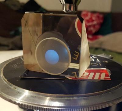 Ottica, meccanica, manutenzione e riparazione del microscopio • Re: Apertometro economico fai da te