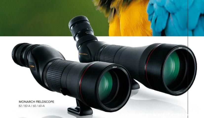 Nuovi Spotting Scopes  modulari Nikon  serie Monarch