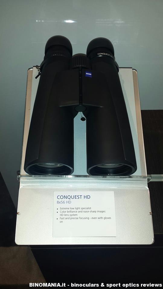 Nuovi Zeiss Conquest HD 8×56 – 10×56 e 15×56