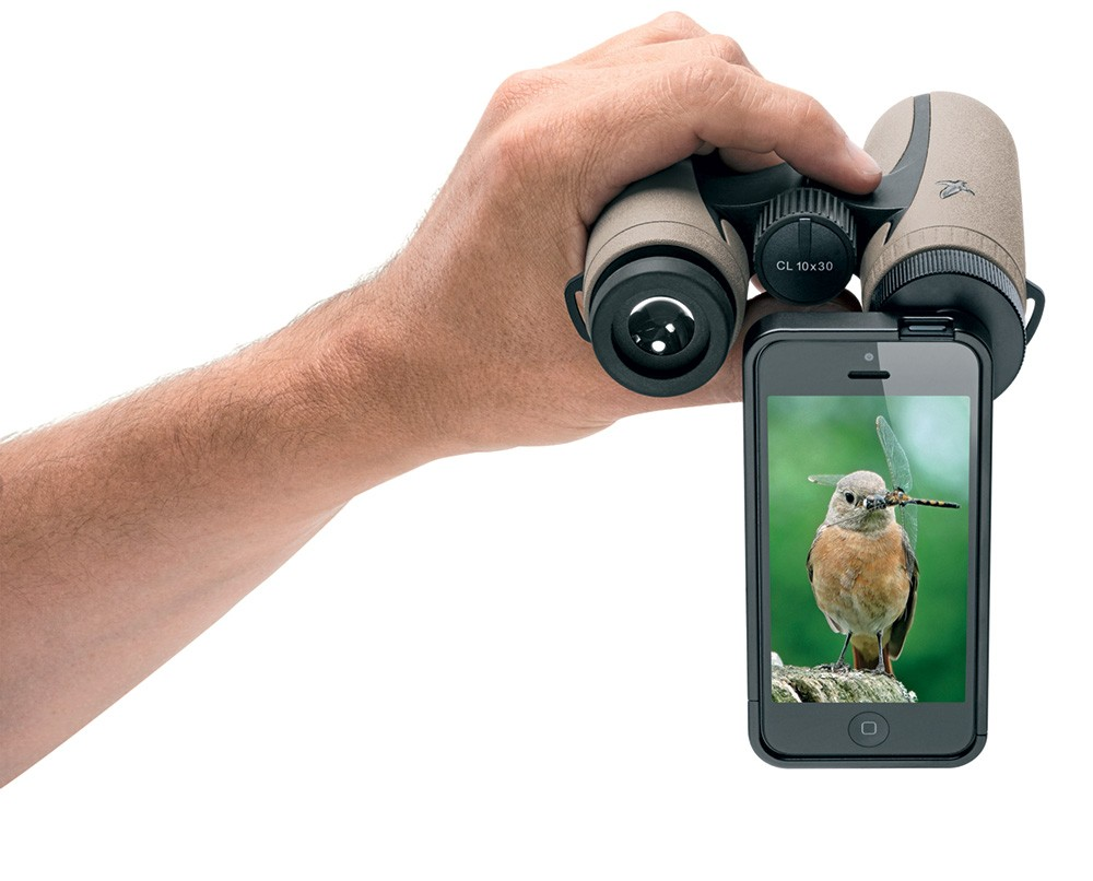 Comunicato Stampa: Nuovo adattatore  PA-i5 per Iphone di  Swarovski Optik