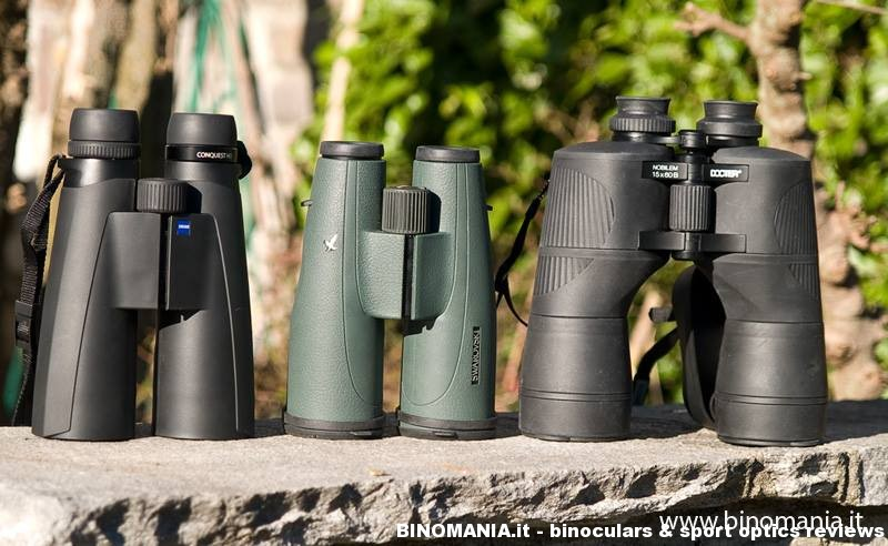 Comparativa 15X: Docter Nobilem 15×60 B/GA, Swarovski SLC 15×56 , Zeiss Conquest HD 15×56.