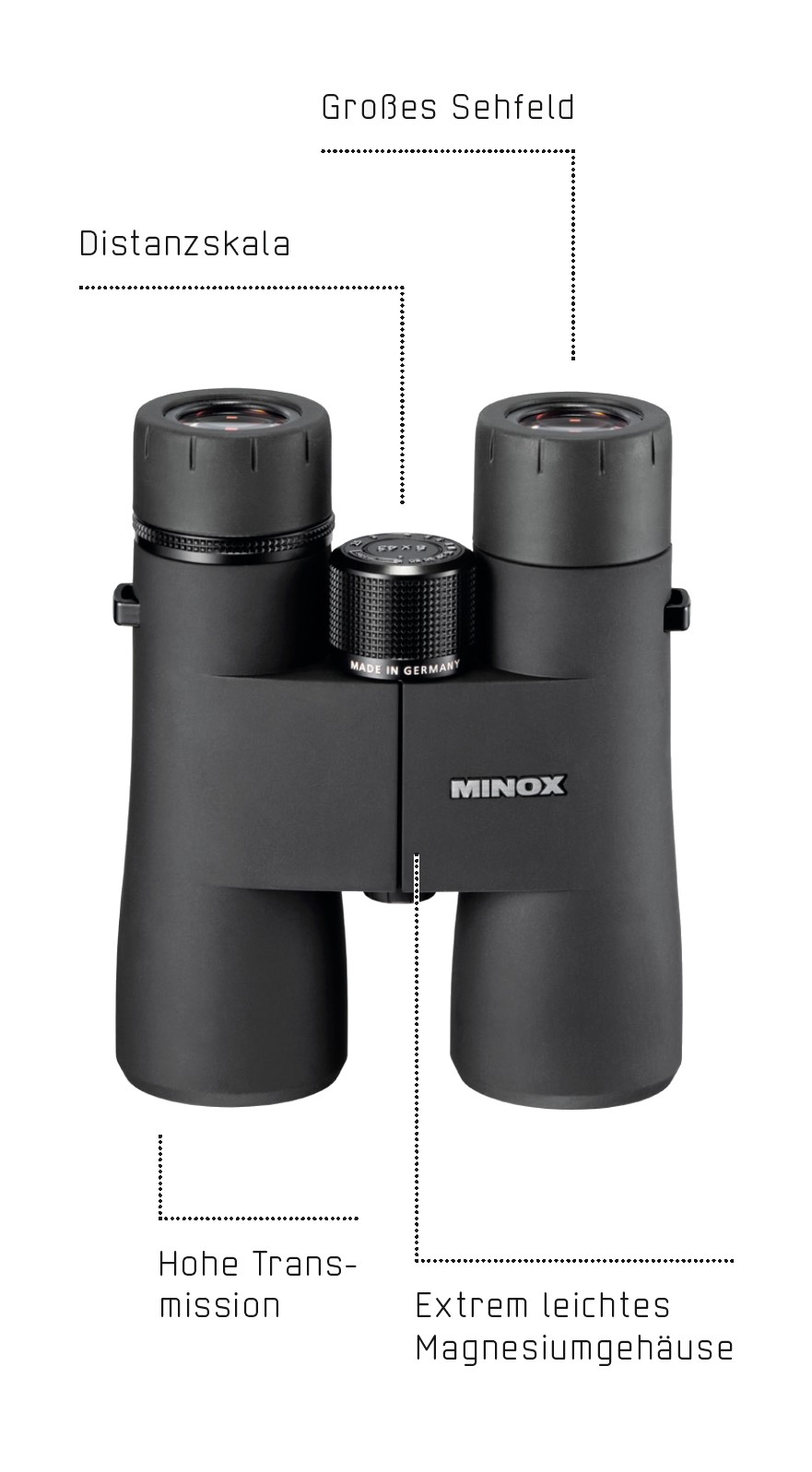 Minox HG 8x42 Black Edition