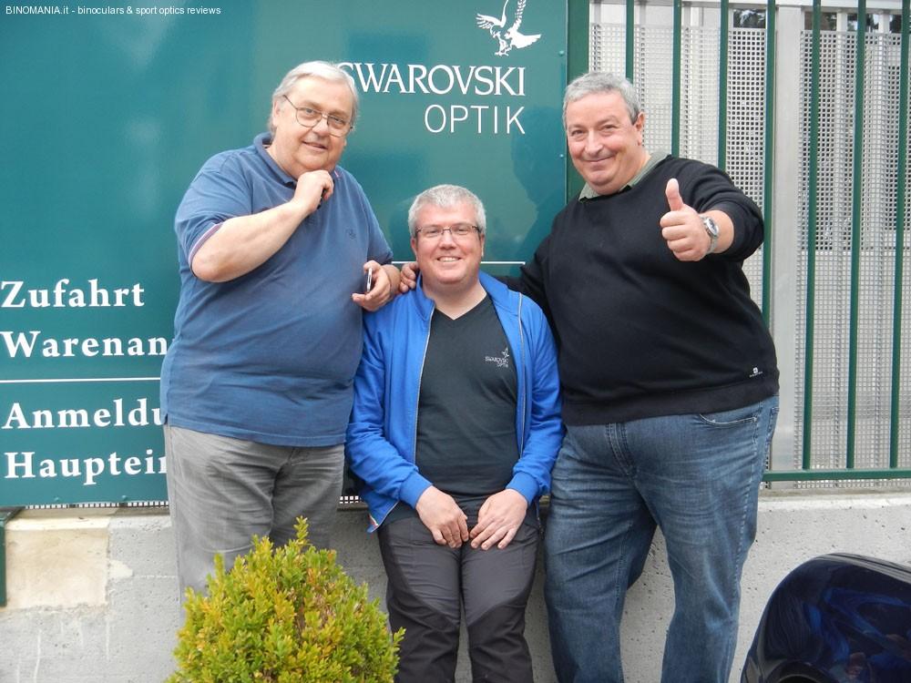 da sinistra: Carlo Rossi, Claudio Todesco, Maner Agnoloni