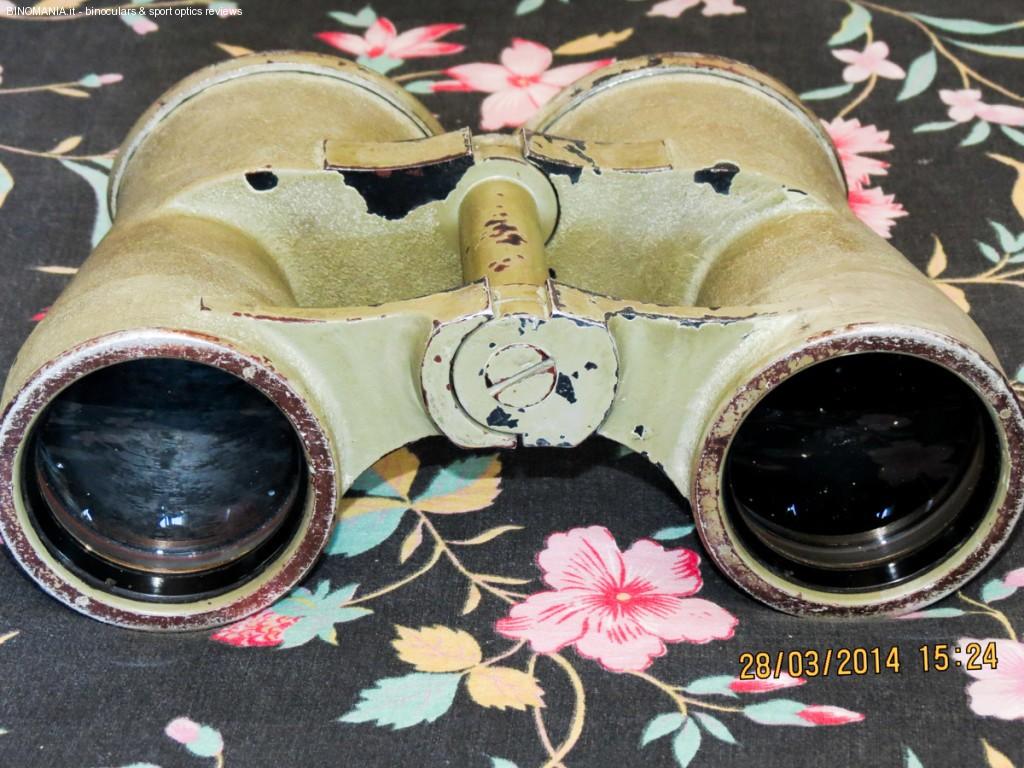 Il Kommandant's glas 8x60 prima del restauro