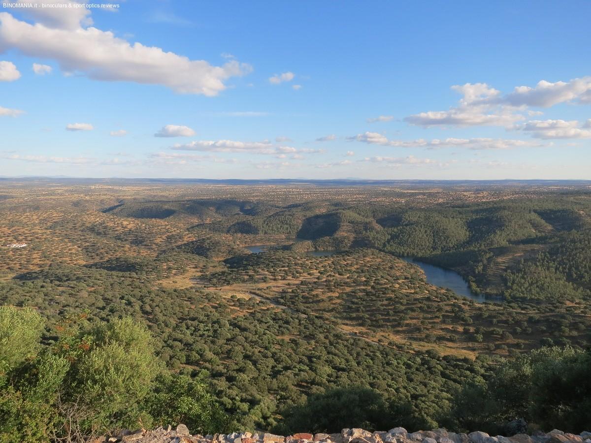 Vista mozzafiato dal Castillo di Monfragüe
