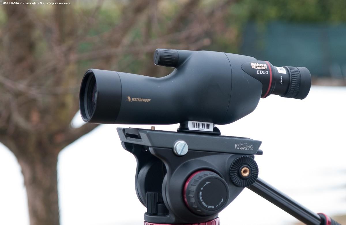 Linea pulita ed essenziale: alte prestazioni. Questo è il Nikon ED 50.