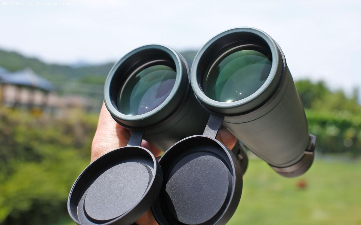 Le lenti da 56 mm di diametro.