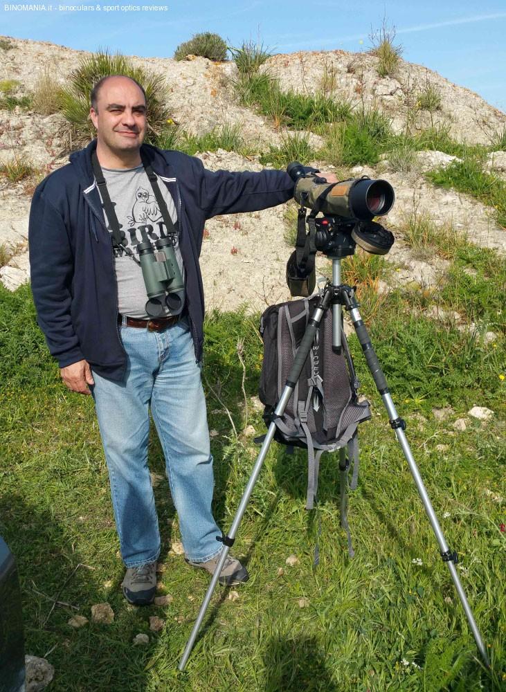 """L'autore del Reportag: Giorgio Aliprandi, alias """"Piske"""" sul Forum di Binomania."""