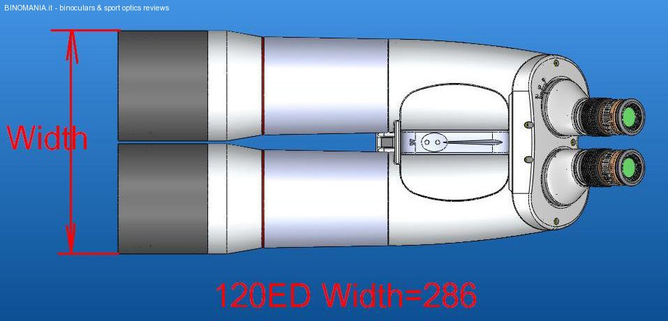 E' in arrivo il nuovo binocolo APM 120 con ottiche SD