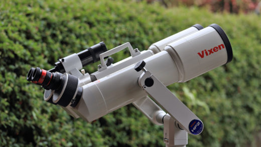 Nuovi oculari Vixen SSW con 83° di campo: anteprima fotografico