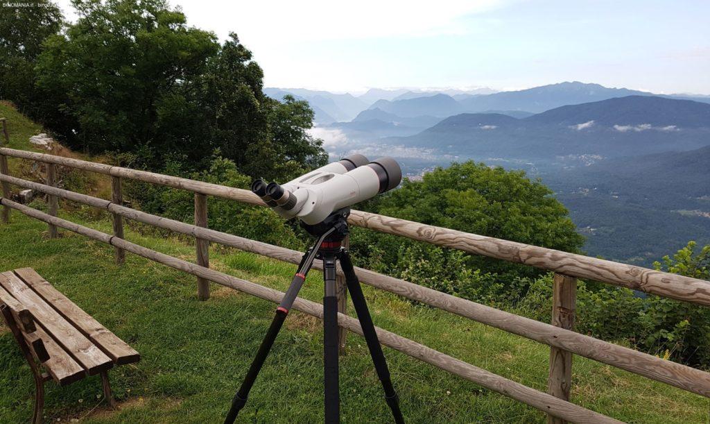 Lo stupendo panorama che si ammira dal Monte San Martino