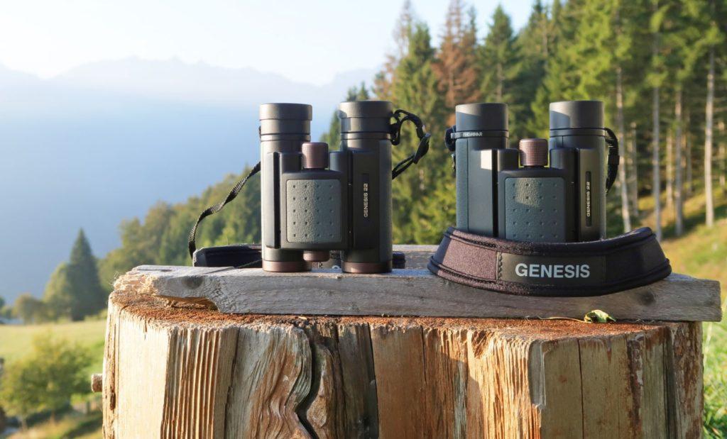 I nuovi Kowa Genesis22, durante una escursione in montagna