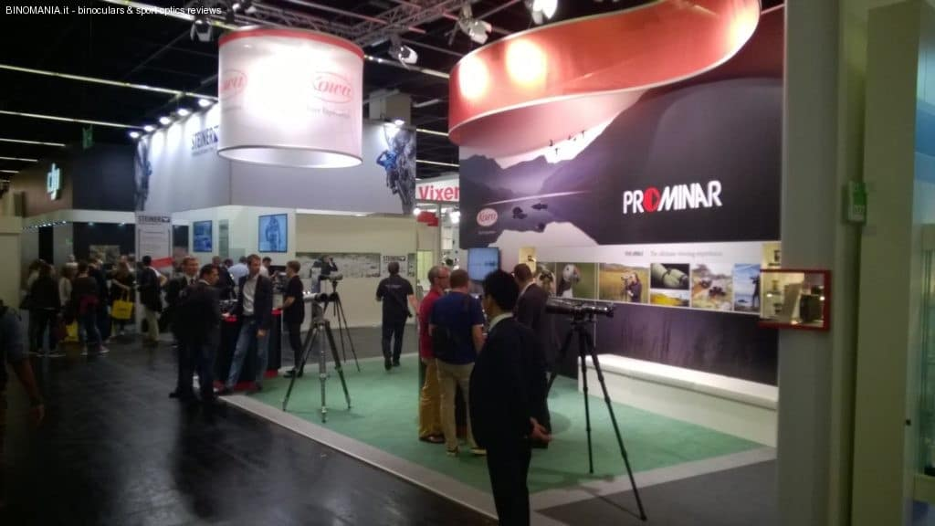 Kowa was showing its new 50mm and 54mm scopes