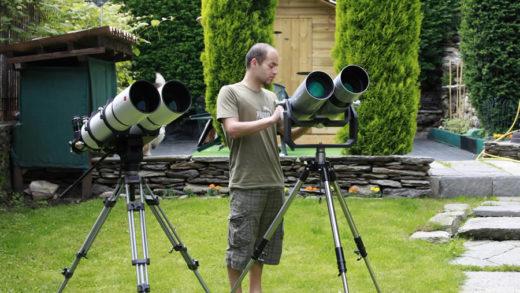 E' in arrivo, un nuovo binocolo  astronomico da 150 mm!