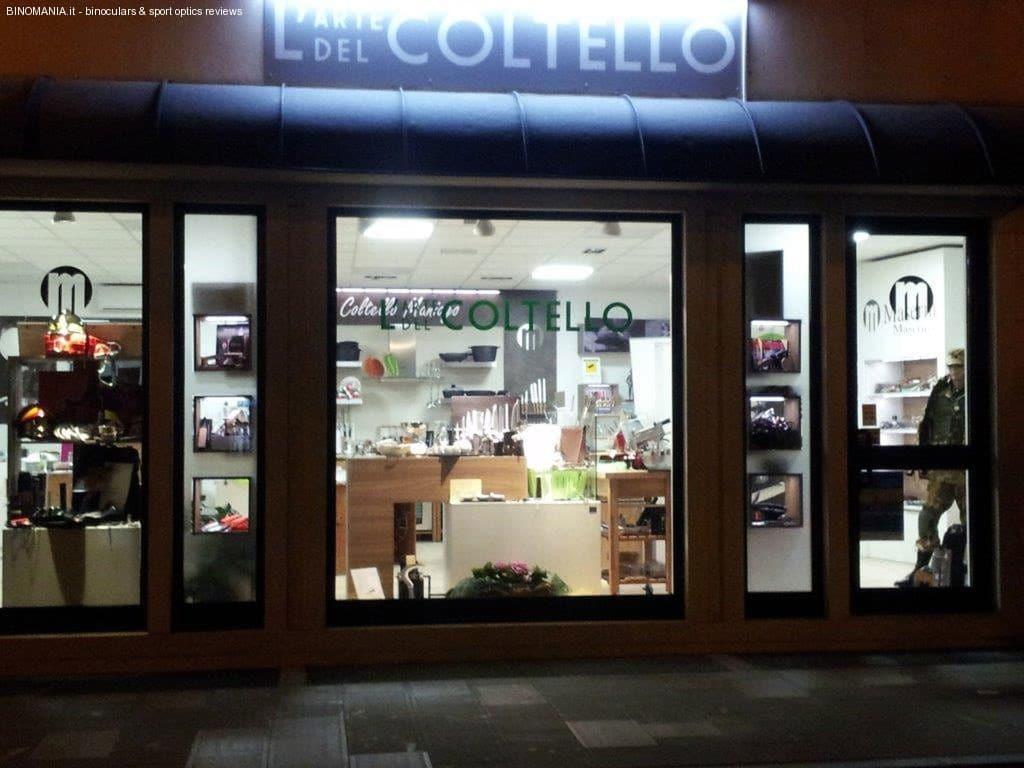 L'arte del coltello: il negozio dedicato agli amanti della coltelleria.