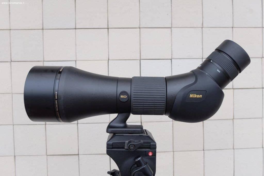 Il fieldscope Nikon Monarch HG da 82 mm di diametro