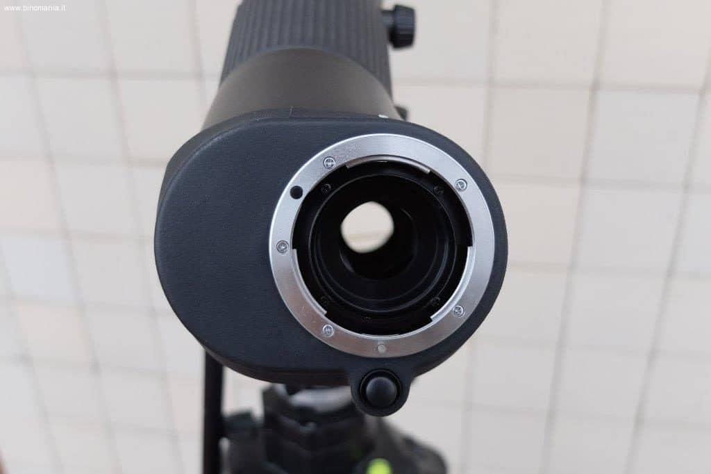 La baionetta Nikon