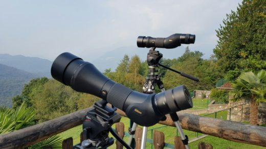 Spotting scopes Nikon Monarch HG: prime impressioni.