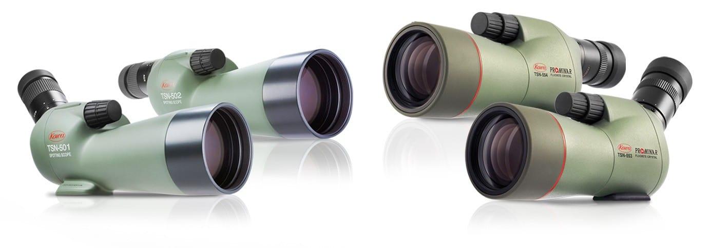 Quattro nuovi spotting  scopes da Kowa!