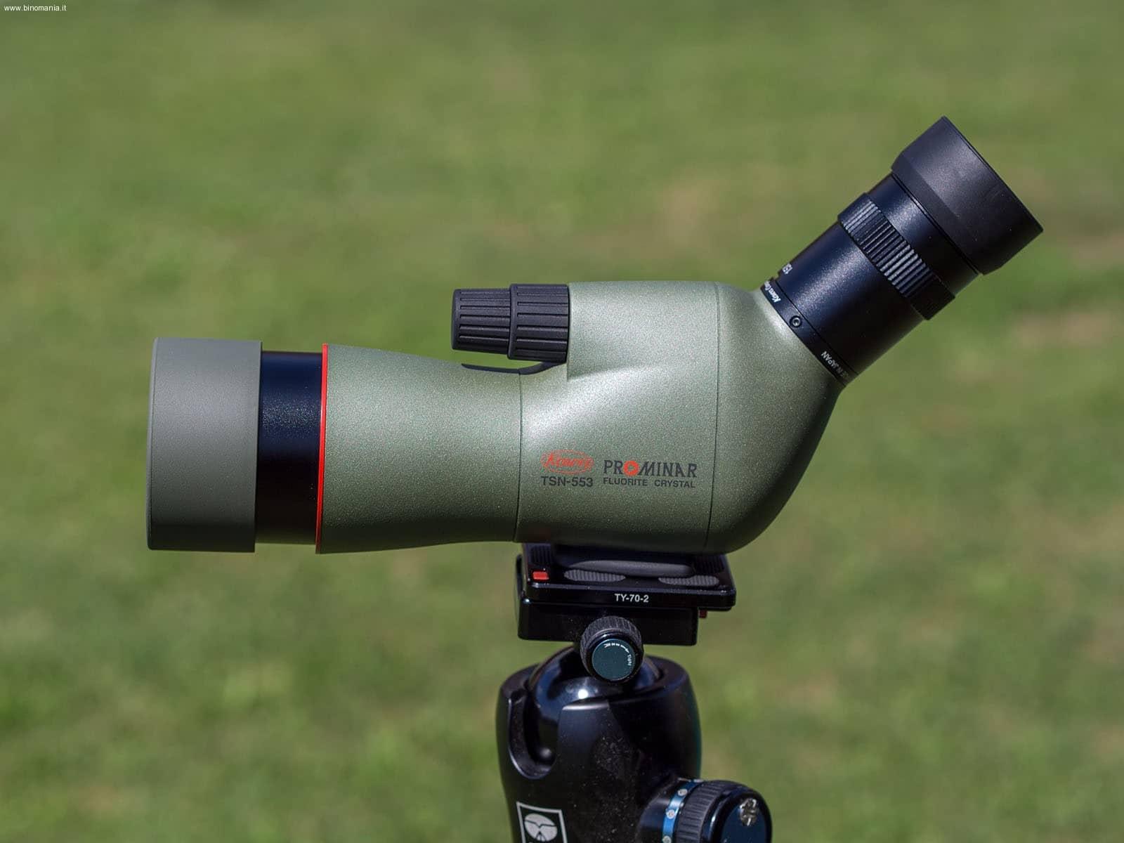 Recensione dello spotting scope Kowa TSN-553 Prominar