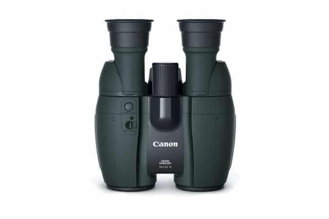 Nuovi binocoli stabilizzati Canon.