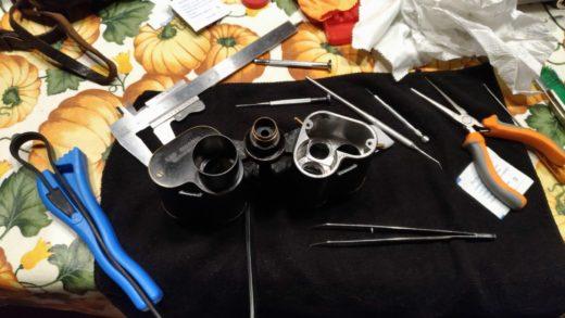 La riparazione dei binocoli vintage: le aziende rispondono.