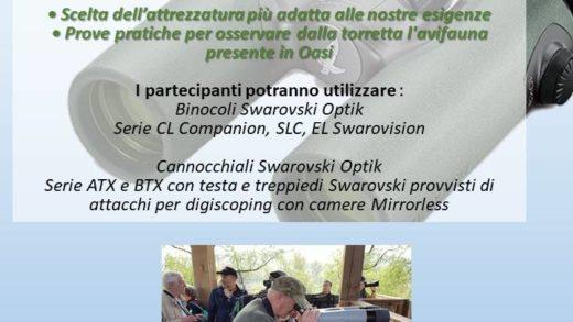6 Maggio evento in collaborazione con Lipu e Artesky