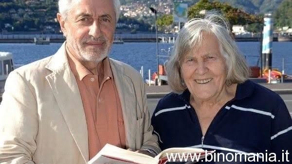 I direttori della rivista LE STELLE: Corrado Lamberti e Margherita Hack