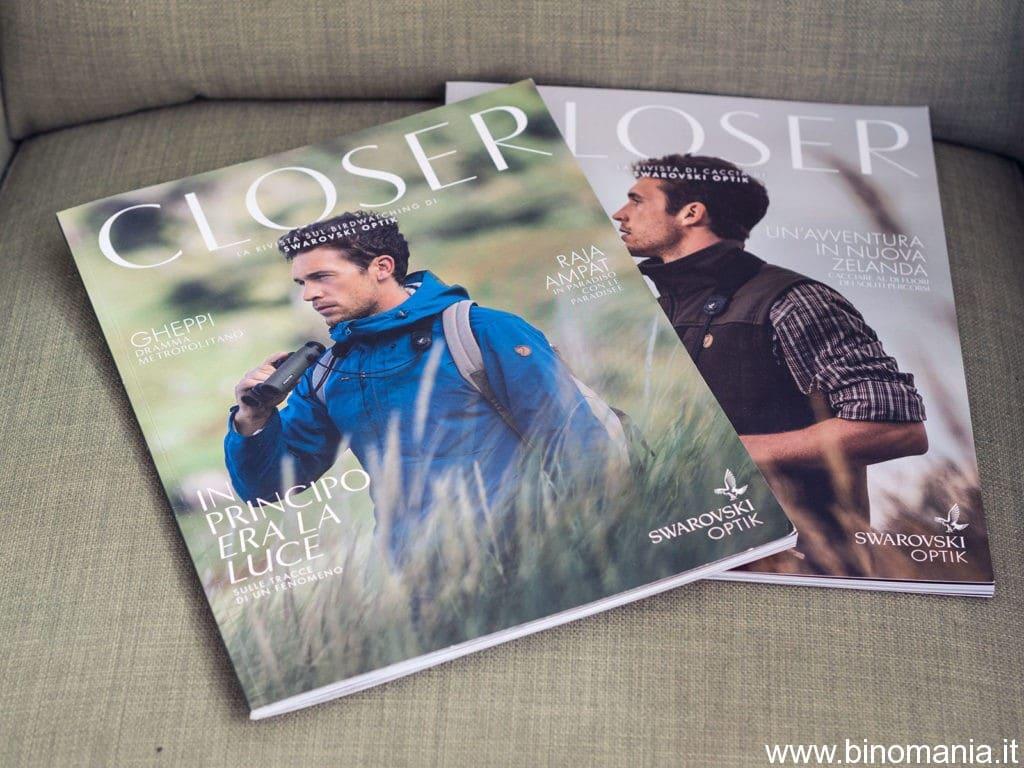 Le nuove riviste di caccia e birdwatching pubblicate da Swarovski Optik