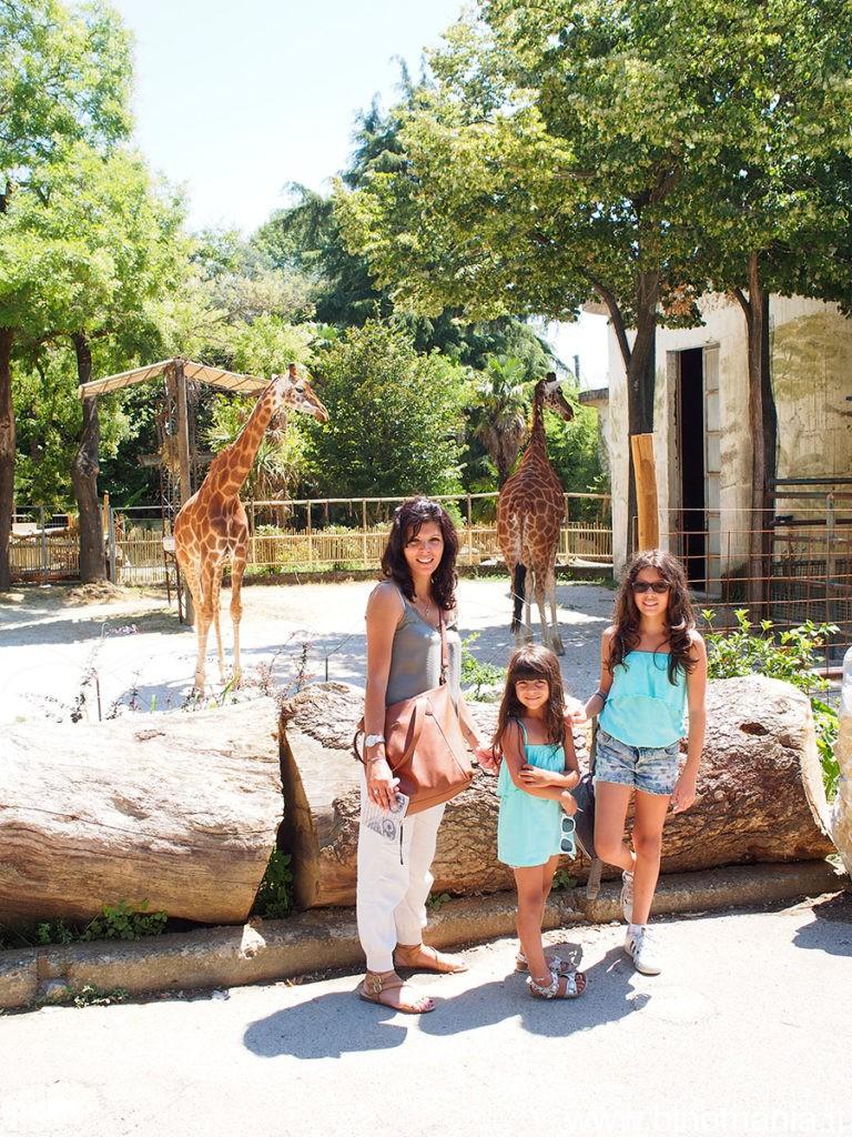 La famiglia Salimbeni presso lo Zoo di Pistoia