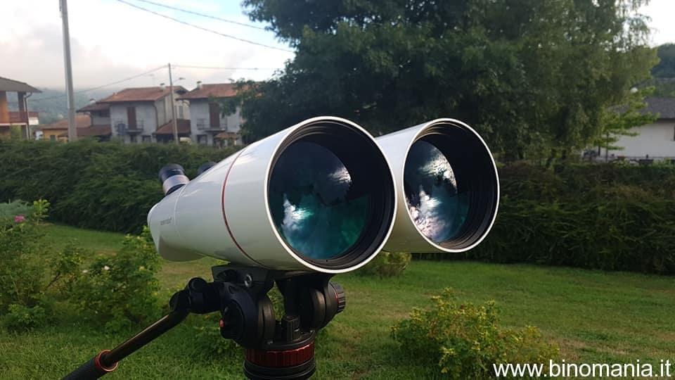 Gli obiettivi del binocolo Oberwerk BT 100 XL ED