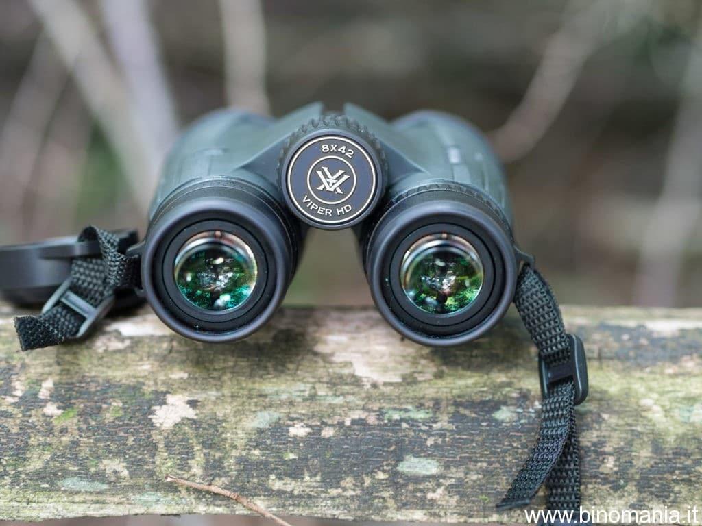 gli oculari del Vortex Viper HD