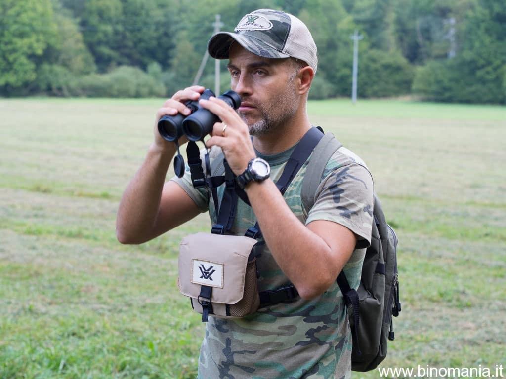 Piergiovanni Salimbeni fa birdwatching con il Vortex Viper HD 8x42