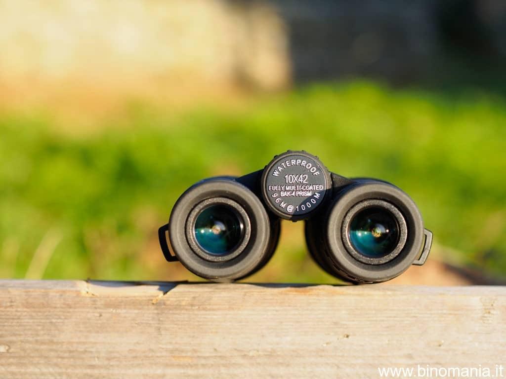 oculari del binocolo BSA 10x42