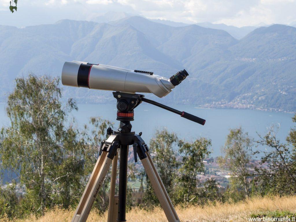 Un binocolo gigante e un panorama mozzafiato