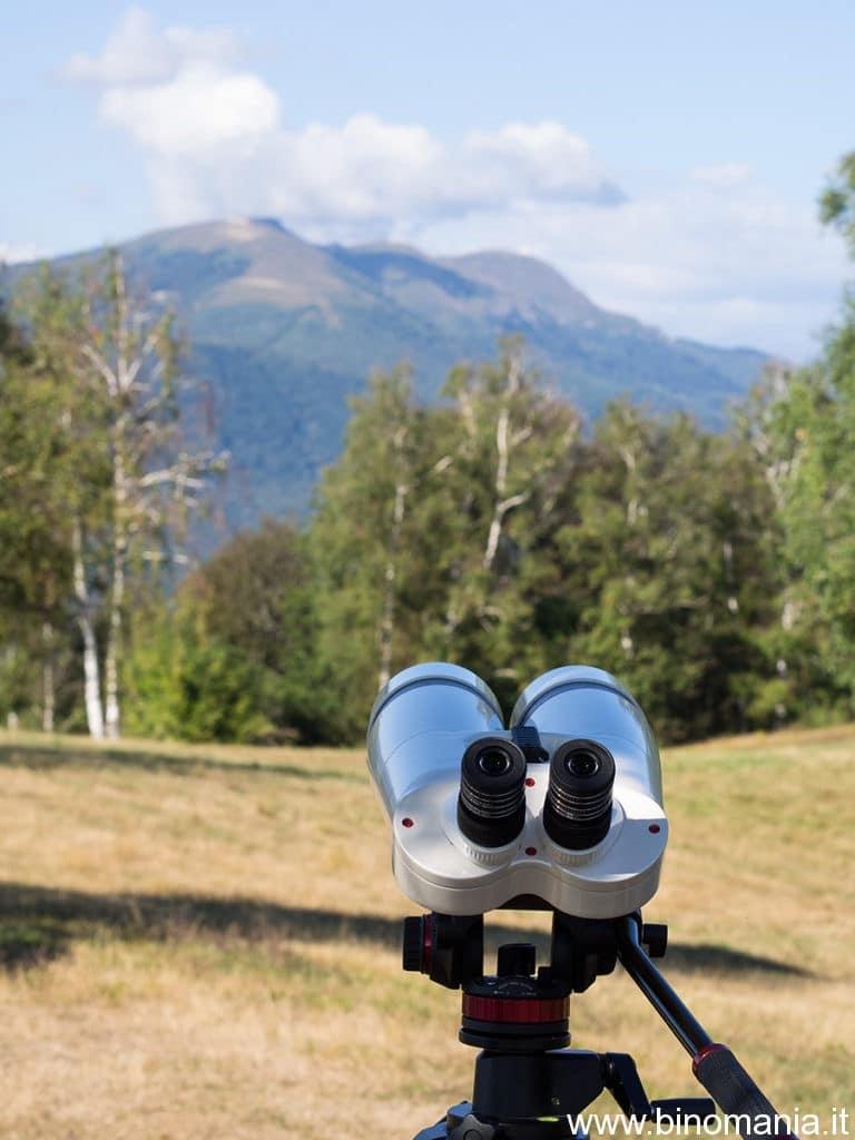 binocolo Oberwerk sul monte Sette Termini