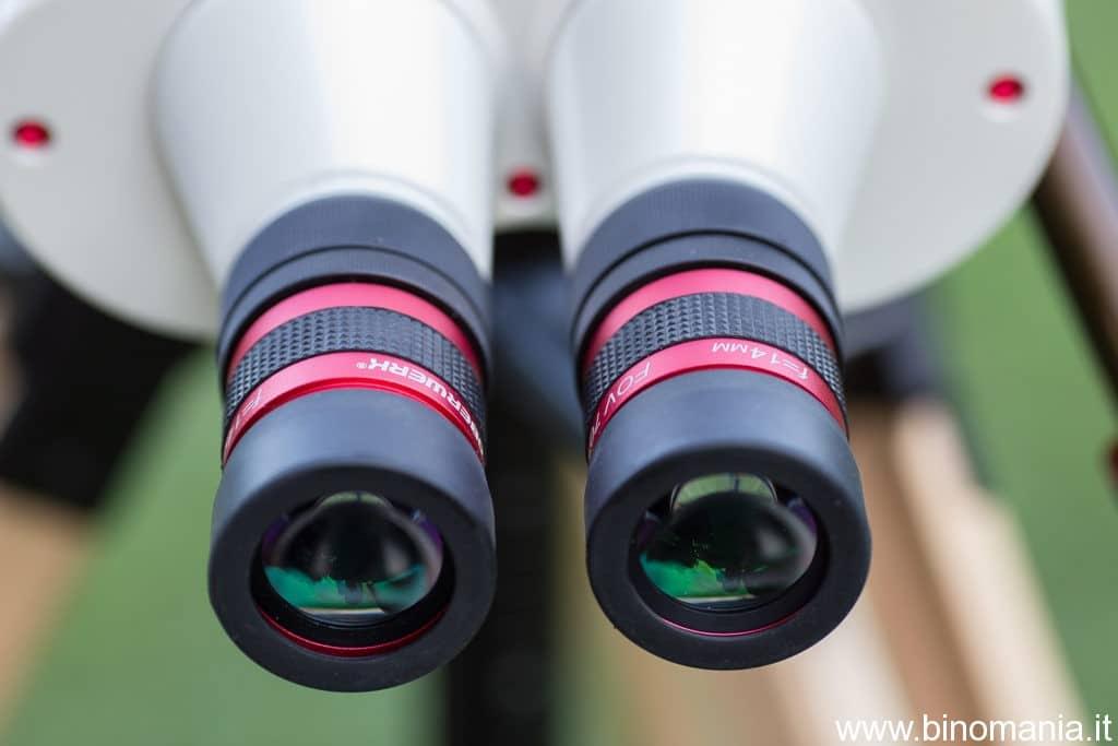 Gli oculari Oberwerk 14 mm