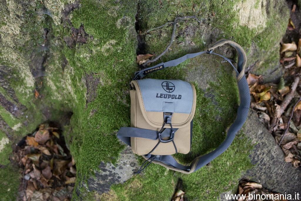 La bella borsa in cordura del Leupold BX-4 PRO GUIDE HD