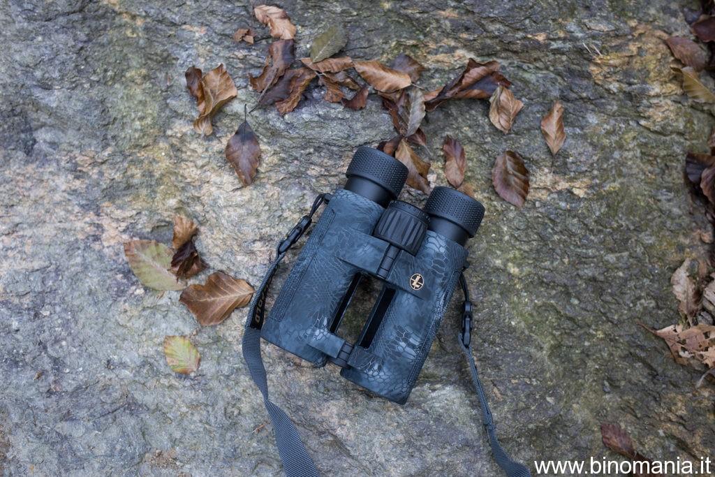Il binocolo Leupold su una roccia