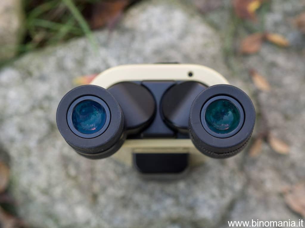 Gli oculari del binocolo Vixen Atera 12x30