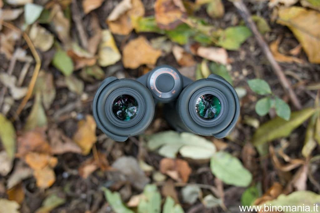 ancora gli oculari del binocolo Steiner SkyHawk 3.0 10x42