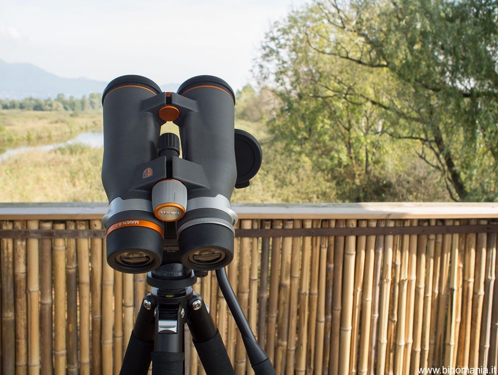 Recensione del binocolo Maven B4 15×56 HD. Cielo e Natura in ..HD!
