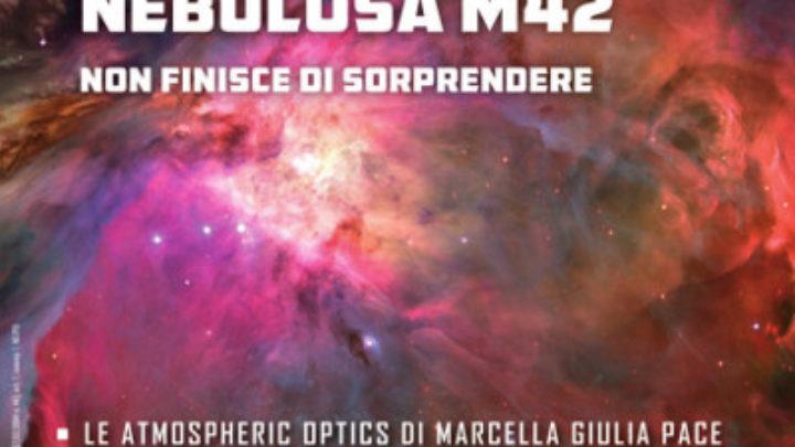 La copertina del mese di Dicembre - Anno 2018 della rivista di Scienze Astronomiche Nuovo Orione