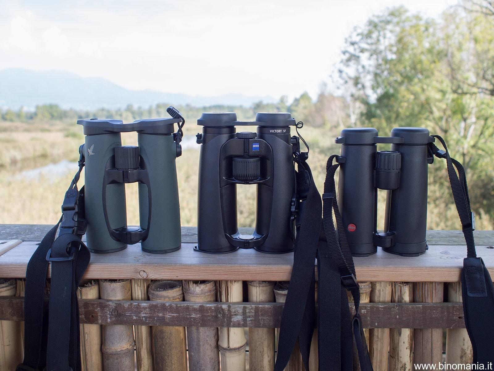 Recensione del binocolo Leica Noctivid 8×42 e breve comparativa con Swarovski EL 8.5×42 e Zeiss Victory SF 8×42