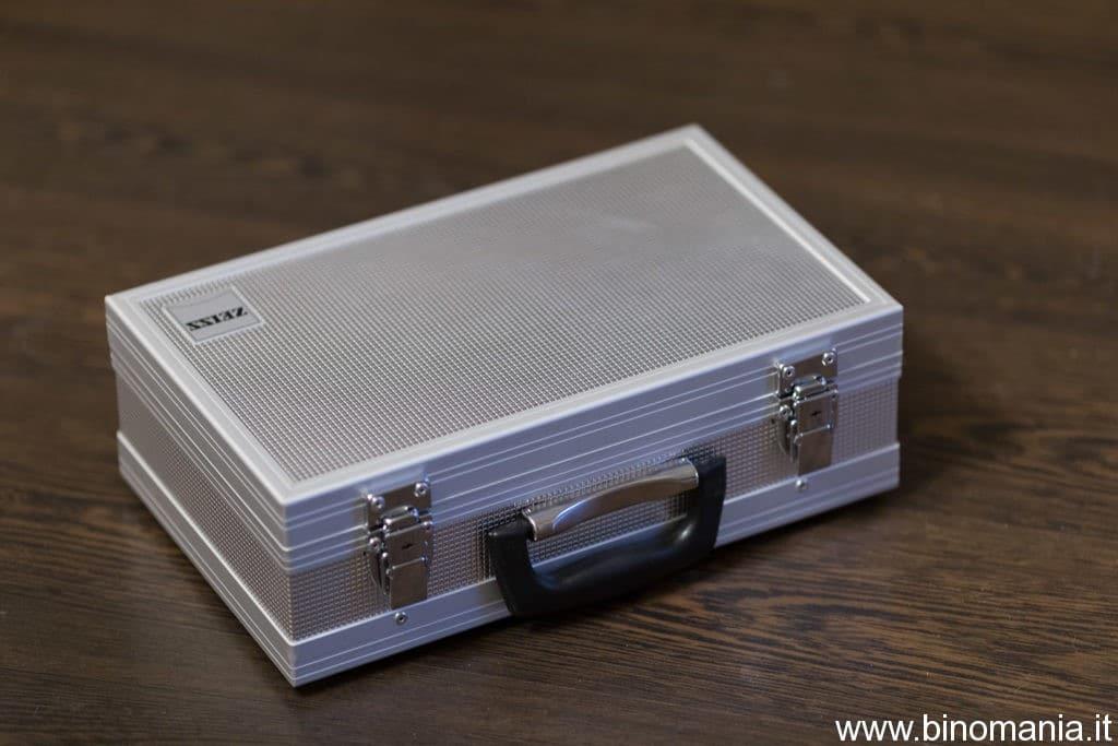 La valigia del binocolo Zeiss Special 20x60S
