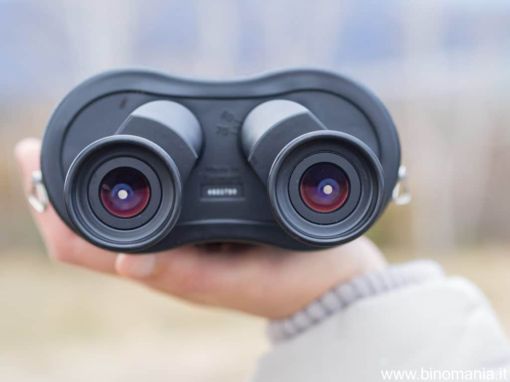 Gli oculari dello Zeiss Special 20x60S