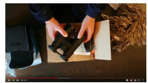 Unboxing  del binocolo Noblex Vector 8×42