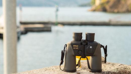 Recensione del binocolo nautico Nikon 7x50CF WP Compass